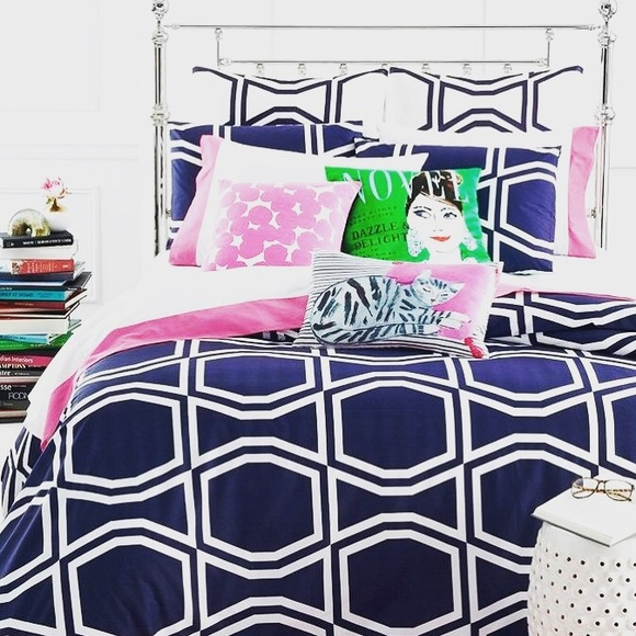 Kate Spade Accessories New Bow Tile Twin Xl Comforter Poshmark